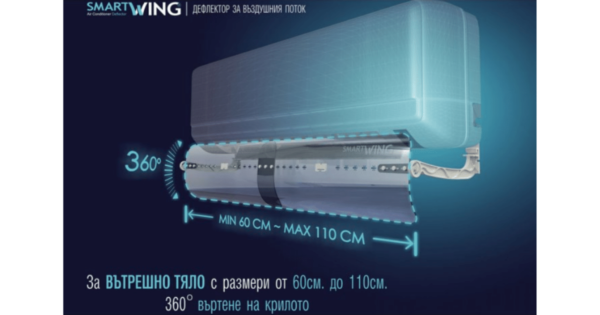 Дефлектор за Климатик - SmartWing | D&D Trade ltd.
